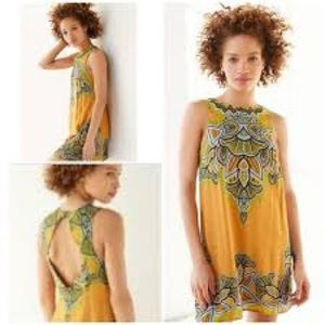 Urban Outfitters Ecote Guinevere Open-Back Dress